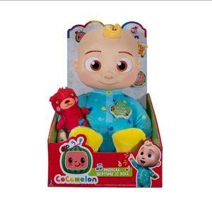 Cocomelon Plush JJ Musical Bedtime Doll